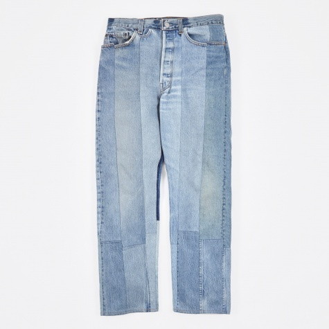 Reworked 501 Denim Jeans - Indigo