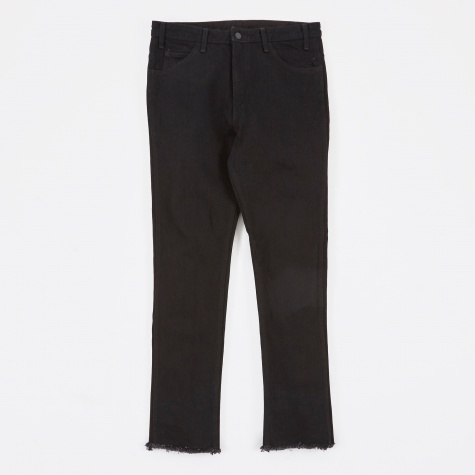 Ripped Denim Pant - Black