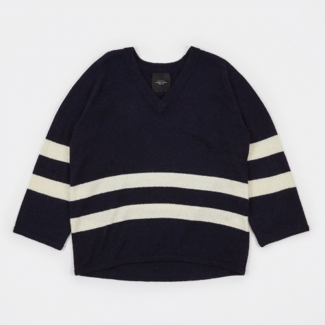 Oversized Knit - Navy