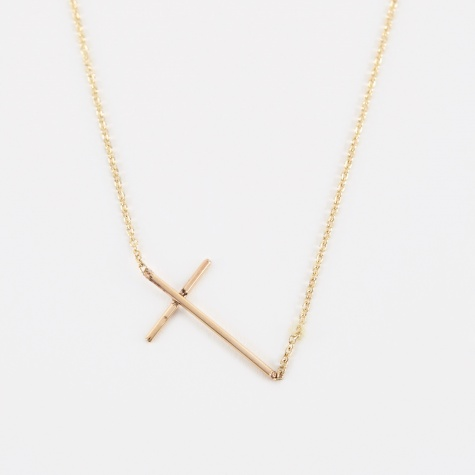 Compass Necklace - 14K Yellow Gold
