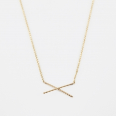 Gabriela Artigas X Necklace - 14K Yellow Gold