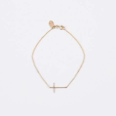 Compass Bracelet - 14K Yellow Gold