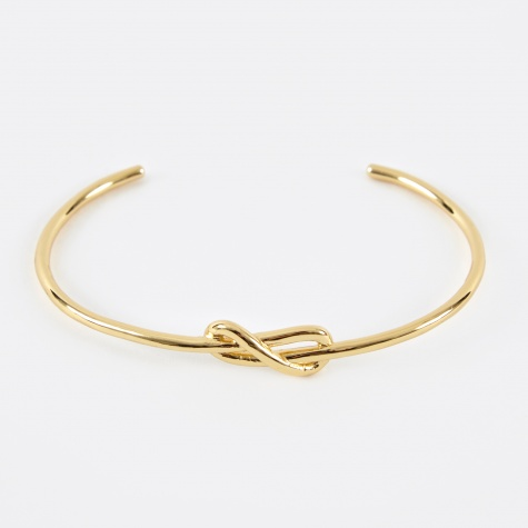 Knot Cuff - 14K Yellow Gold Plated