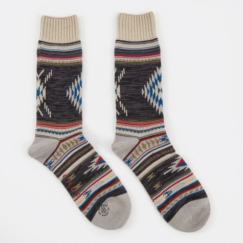 Churro Socks - Charcoal