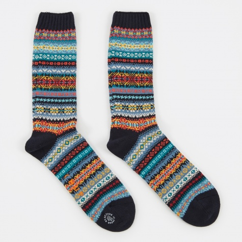 Solas Socks - Navy