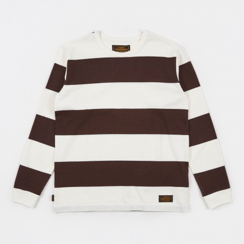 Bar Crew Longsleeve Tee - Brown