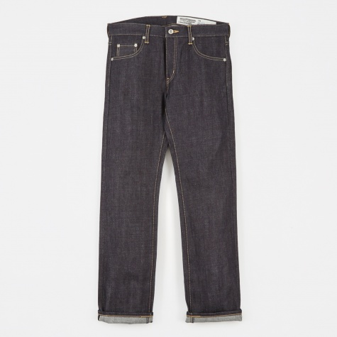 Rigid Narrow Denim 14oz - Indigo