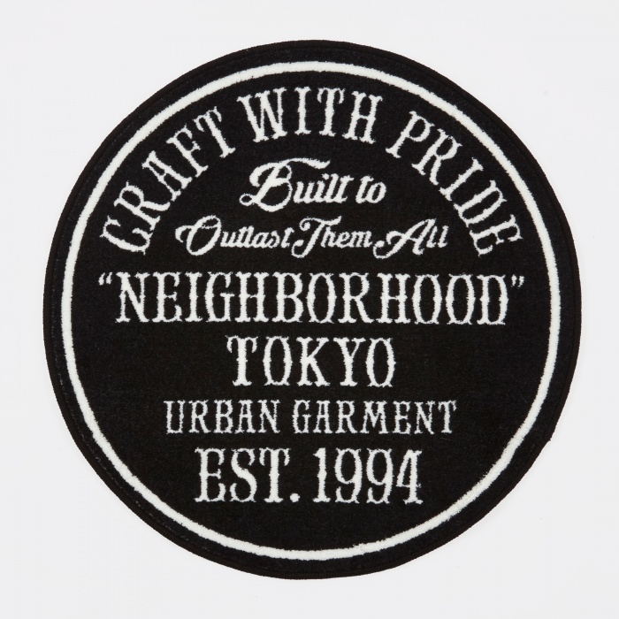 Neighborhood 1994 A-Mat Rug - Black (Image 1)