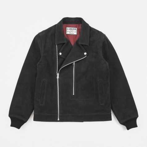 Luker by Neighborhood Riders Jacket - Black
