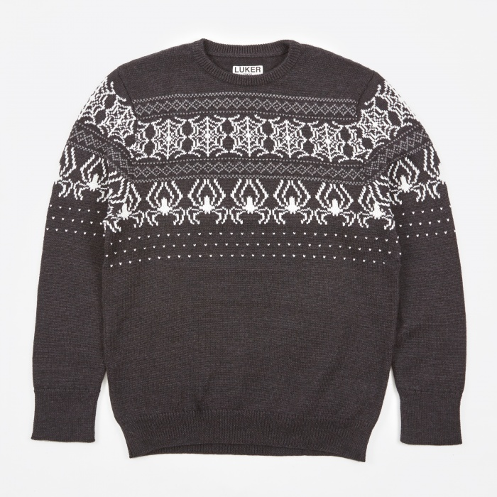 Neighborhood Luker by Neighborhood Web Crew Knit - Black (Image 1)