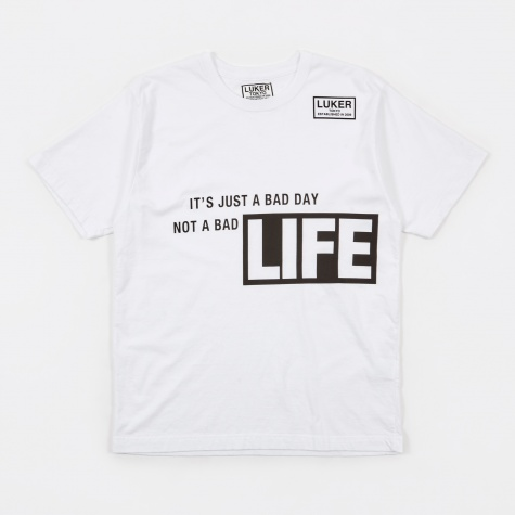 Luker by Neighborhood Life T-Shirt - White