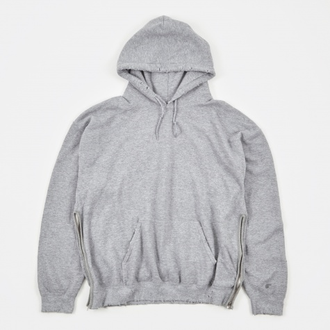Do Not Kill Korosuna Sweat Parka - Ash Grey