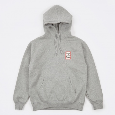 Mini Frame Pullover - Heather Grey