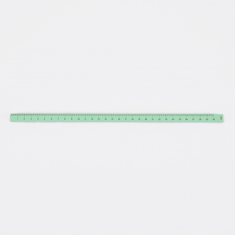 Wooden Ruler Cube Painted - Mint