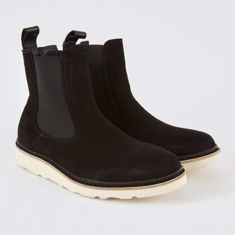 Verona Boot - Black Chamois