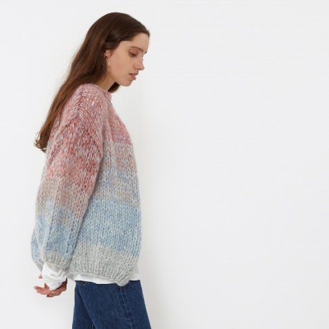Multicoloured Big Cardigan - Multicolour
