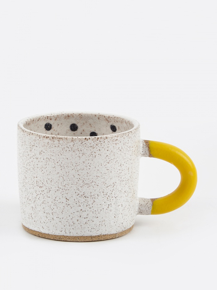 Recreation Center Rubber-Dipped Dot Mug (Image 1)
