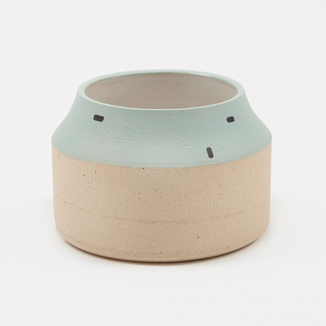 - Mint Brick Vessel