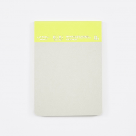 HIBI Memo Pad - Yellow