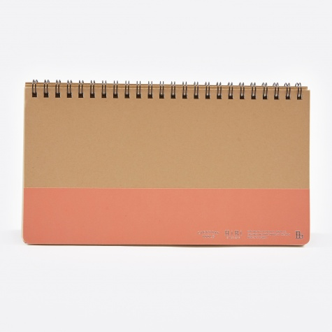 HIBI Weekly Notebook - Orange