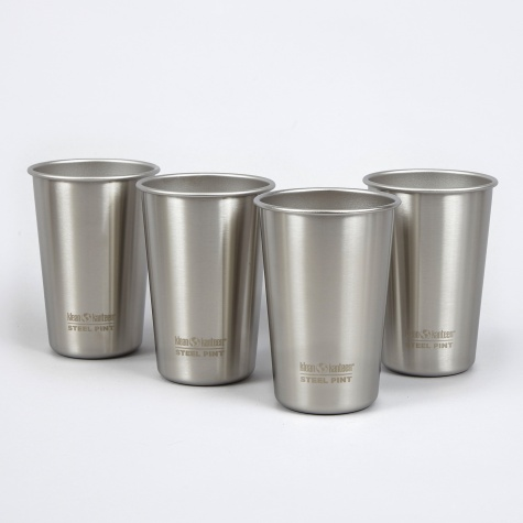 473ml Cup 4-Pack - Brush Stainless