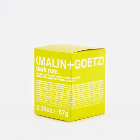 Malin & Goetz Scented Candle S - Dark Rum