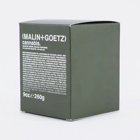 Malin+Goetz Scented Candle 260g - Cannabis