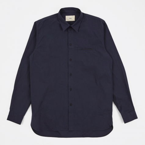 Zip Pocket Shirt - Denim
