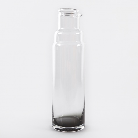 Carafe With Lid 'Smoke' Glass - 100cl