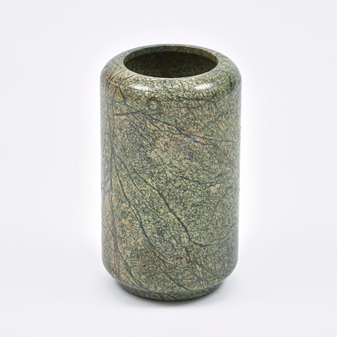 Vase 'Balder' Marble - Brown