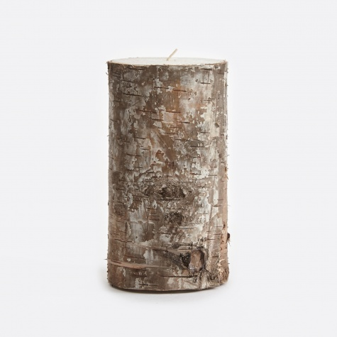 Candle With Birch Bark - Bark (311)