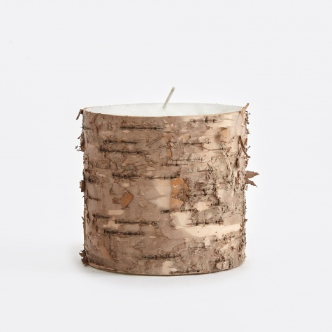 Candle With Birch Bark - Bark (511)