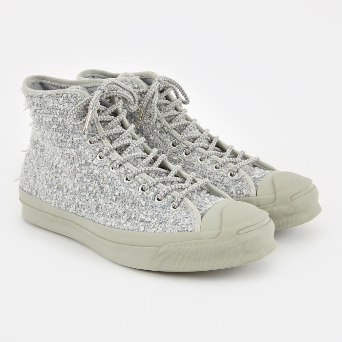 Converse x Bunney Jack Purcell Signature Mid - Grey (Image 1)