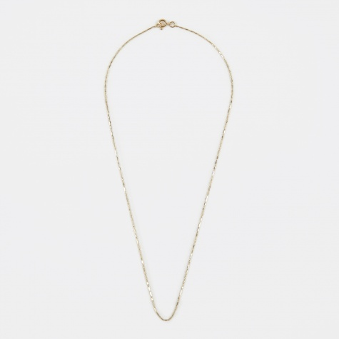 Grovel Necklace - 18K Yellow Gold