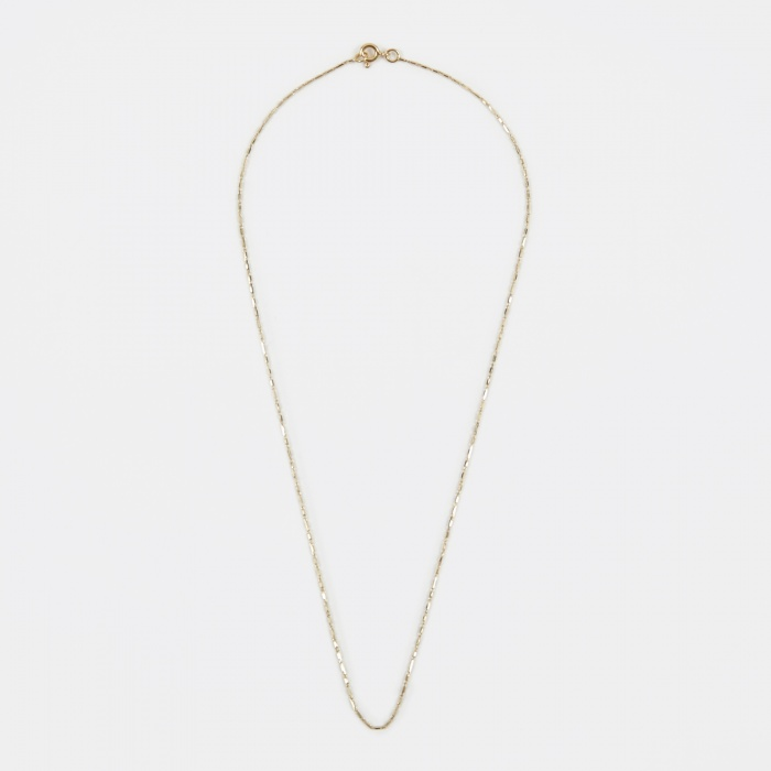 Lucy Folk Grovel Necklace - 18K Yellow Gold (Image 1)