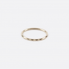 Lucy Folk Promise Ring B - 10K Yellow Gold
