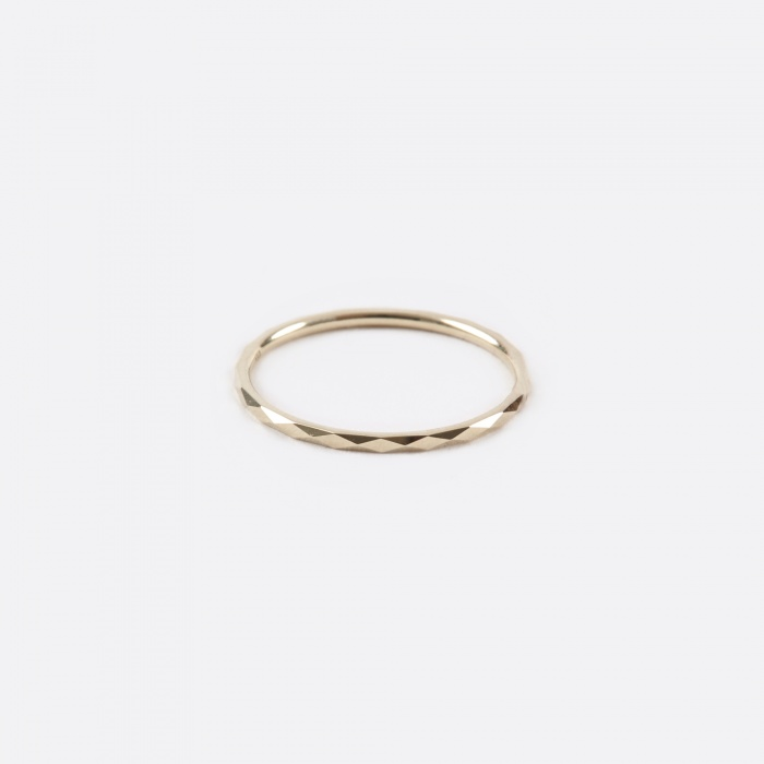 Lucy Folk Promise Ring B - 10K Yellow Gold (Image 1)