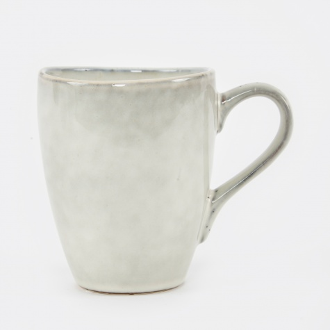 Mug With Handle 'Nordic Sand' Stoneware - Sand