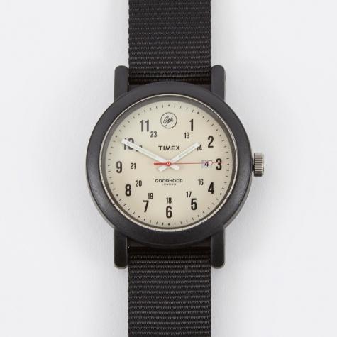 x Goodhood OG Camper Watch - Black/Vintage