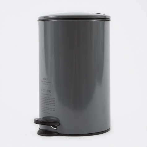 Steel Trashcan