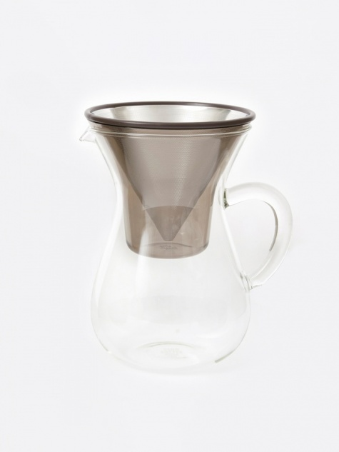 Slow Coffee Carafe Set 600ml - Stainless Steel