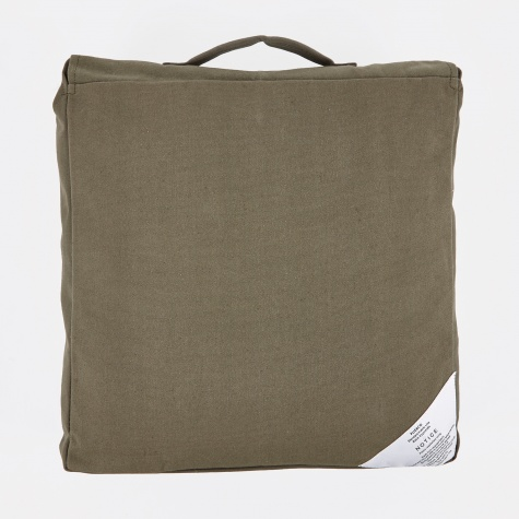 Block Cushion 40x40cm - Olive