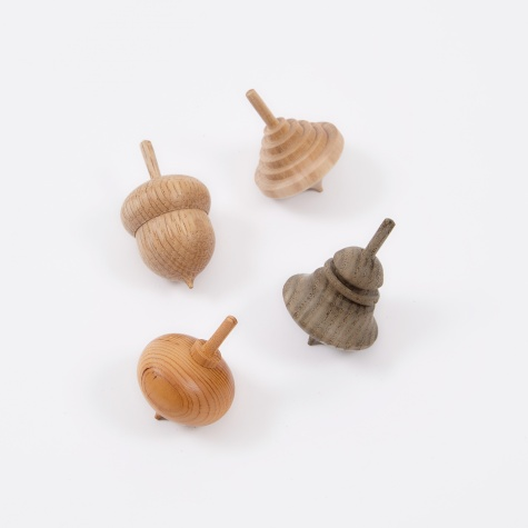 Mokkougei Sasahara Spinning Top - Assorted