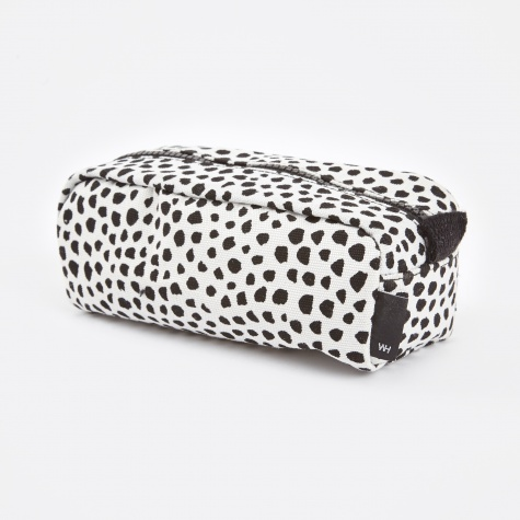 Wrong for Hay Dot Wash Bag Small - White