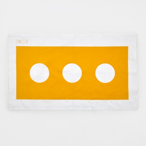 Brick Tea Towel - Yellow