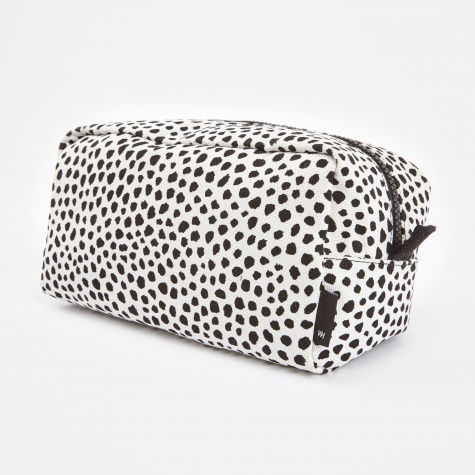 Wrong for Hay Dot Wash Bag Large - White