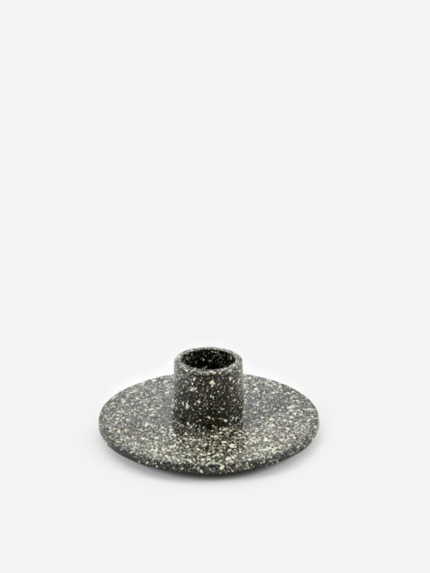 Cast Iron Candle Holder - Spotted
