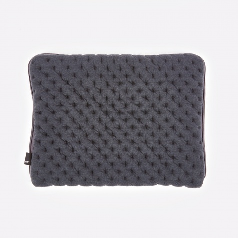 "Quilt Laptop Sleeve 13"" - Grey"