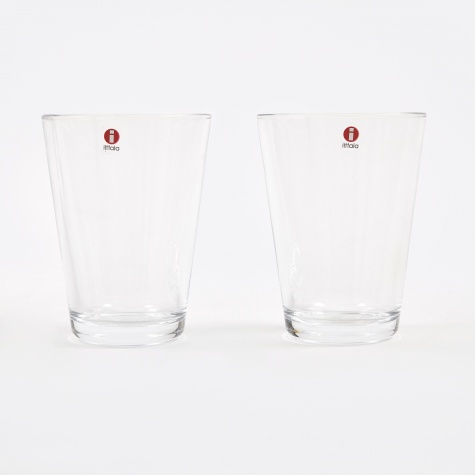 Kartio Tumbler 40cl  2pc - Clear