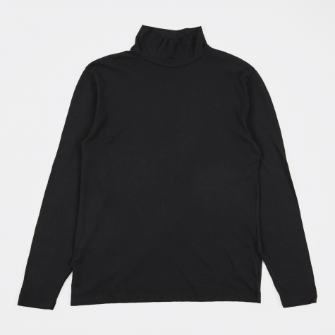 Turtleneck - Washed Black Army Jersey